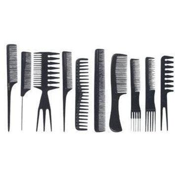 NaRaMax professional Comb set -10pcs - premium quality