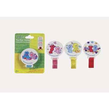 Sesame Street Pacifier Holder (Elmo and Cookie Monster) (3-Pack)