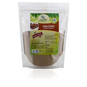 100% Pure Natural Aritha Powder/Soap nut Powder(SAPINDUS MUKOROSSI) FOR SILKY HAIRS (227g/(1/2 lb)/8 ounces) Natural Healthlife Care