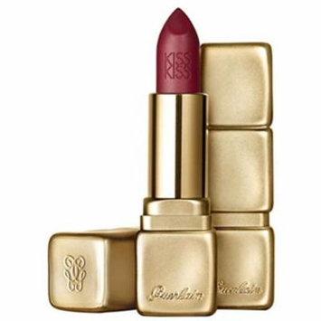 6 Pack - Guerlain Kiss Kiss Matte Lip Color Wild Plum 0.12 oz