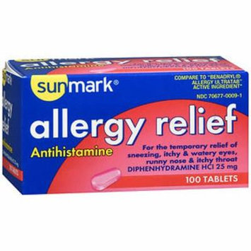 Sunmark Allergy Relief Minitabs - 100 ct