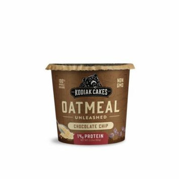 Kodiak Cakes Chocolate Chip Oatmeal in a Cup (Pack of 8)