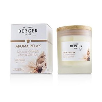 Scented Candle - Aroma Relax (Pogostemon Cablin) 6.3oz