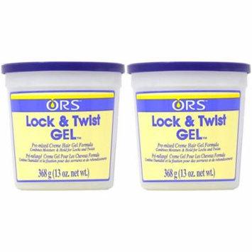 ORS Lock & Twst Gel 13oz (Pack of 2)