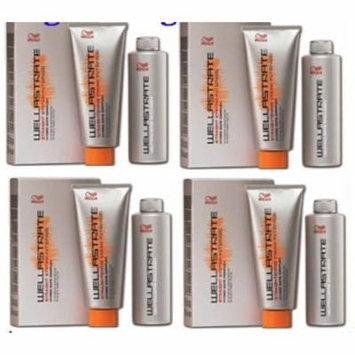 4 BOXES WELLA STRATE WELLASTRATE INTENSE STRAIGHTENER STRAIGHTENING HAIR CREAM