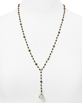 Ela Rae Yaeli Sat Necklace, 24