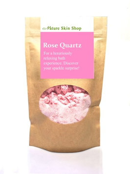 Nature Skin Shop Foaming Bath Soak. Hidden Surprise Bracelet Inside (Rose Quartz)