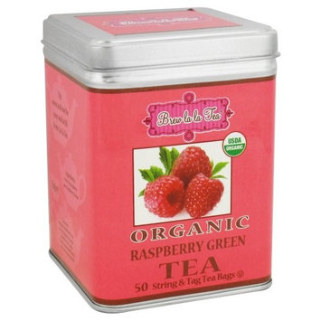 Brew La La - Organic Green Tea Ginger Peach - 50 Tea Bags [Ginger Peach]