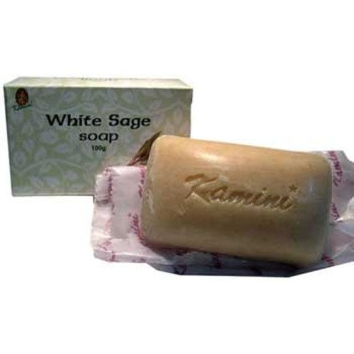 Azure Green RSKWHIS 100g White Sage soap