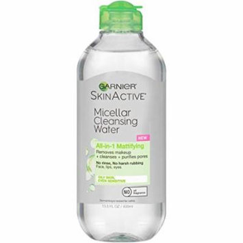 Garnier SkinActive Micellar Cleansing Water for Oily Skin, 13.5 Ounce