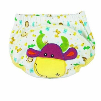 Kawaii Cartoon Embroidery Baby Diapers Reusable Nappies Cloth Diaper Washable Infants Children Baby Cotton Training Pants