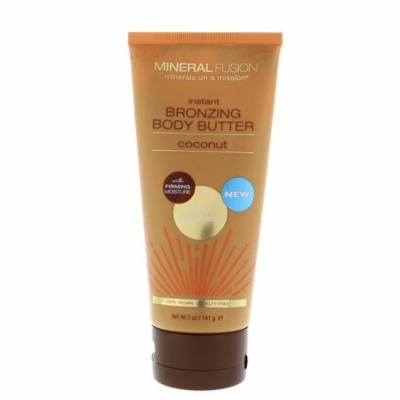 Mineral Fusion Instant Bronzing Body Butter Light Medium Coconut 5 oz 141 g