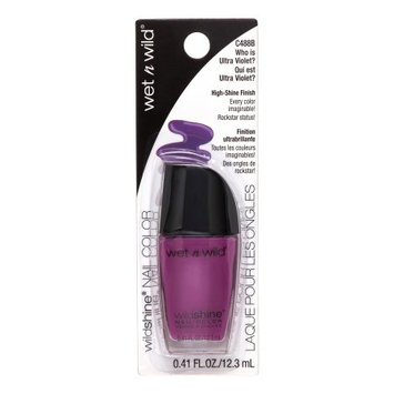 Wet N Wild Shine Nail Color, Who Ultra Violet