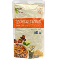 Made in Nature, Ancient Grain Fusion, Organic Tuscan Garlic & Tomato, 8 oz(pack of 4)