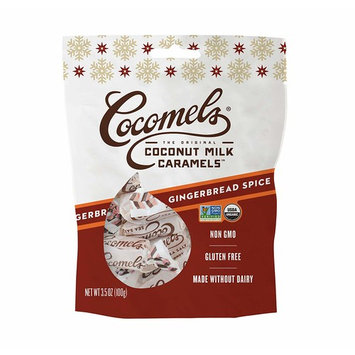 Cocomels Coconut Milk Caramels - Organic, Made Without Dairy, Vegan, Kosher, GINGERBREAD SPICE