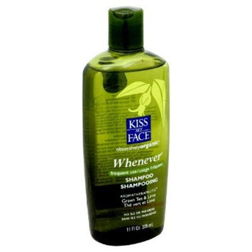 Kiss My Face - Kiss My Face Whenever Shampoo Green Tea And Lime - 11 Fl Oz - Pack Of 1