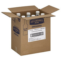 Hellmann's Foodservice Salad Bar Bottles Creamy Casear 192 oz