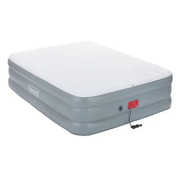 Coleman Quilted Double-High Queen Air Mattress with Swiftrise Pump