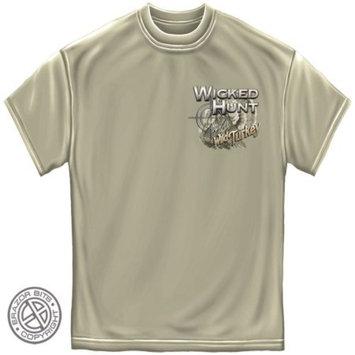 Erazorbits WICKED HUNT TURKEY Ice Gray Adult Unisex T-Shirt