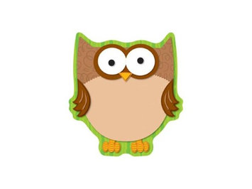 Carson-dellosa Publishing CDP151013 - Carson-Dellosa Full-color Owl Notepad