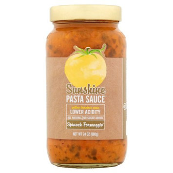 The Sunshine Tomato Company Sunshine Pasta Suace, Sauce Pasta Spnch Formagg, 24 Oz (Pack Of 6)