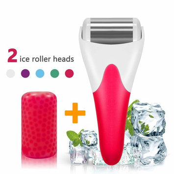 Ice Roller,SPANLA 2 Ice Rollers for Face & Eye,Puffiness,Migraine,Pain Relief and Minor Injury.