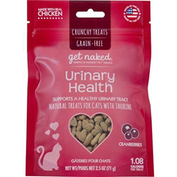 Get Naked Urinary Health Crunchy Treats w/ Trays for Cats 2.5oz