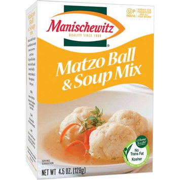 Manischewitz Matzo Ball and Soup Mix, 4.5 oz
