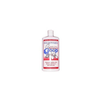 GROOMER'S GOOP Glossy Coat Pet Shampoo Bottle, 16-Ounce