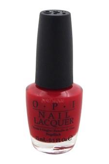 OPI Big Apple Red Nail Polish