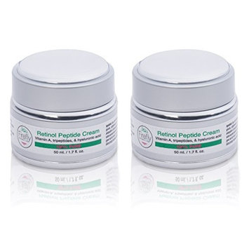 Kat's Firefly Cosmetics- Retinol A Cream, With Hyaluronic & Peptides-Helps Boost Collagen, Unclog Pores, Reduce Fine Lines, Anti-Aging Skincare For Women and Men 50ML.