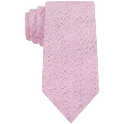 Sean John Mens Silk Diamond Print Regular Tie