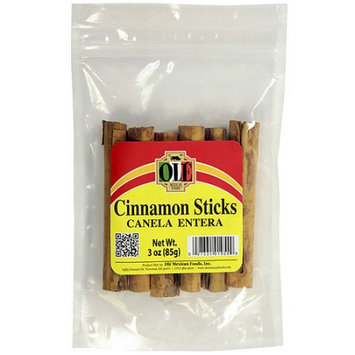 Ole Mexican Ole Cinnamon Sticks, 3 oz