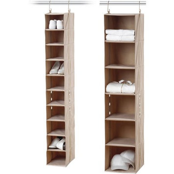 Neatfreak 10-Shelf Shoe Organizer and 6-Shelf Closet Organizer