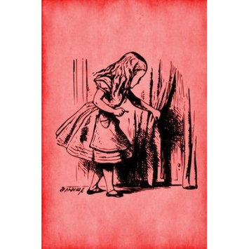 Createspace Publishing Alice in Wonderland Journal - Alice and The Secret Door (Red): 100 page 6