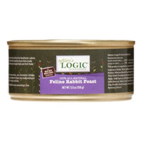 Nature's Logic Feline Rabbit Feast Canned Cat Food, 5.5 Oz (Case of 12)