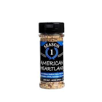 American Heartland Seasoning - Lower Sodium, Gluten Free, No Added Sugar, No MSG, Paleo, Vegan