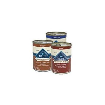 Blue Buffalo Homestyle Canned Variety Pack Dog Food (Beef Turkey Chicken) 12pack/ 12.5 oz