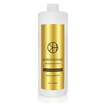 Keratin For Hair Clairying Anti-Residue Deep Cleaning Shampoo (32 fl oz)