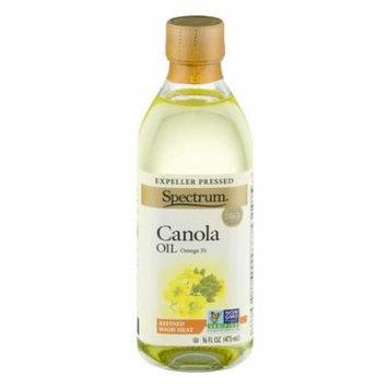 Spectrum Naturals Oil Canola Refnd,16Oz (Pack Of 12)