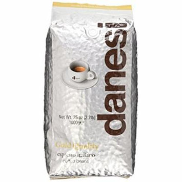 Danesi Gold Quality Beans 2.2 lbs bag Espresso Coffee Beans from Italy 2 x 2.2 lbs