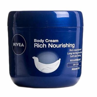 Nivea Rich Nourishing Body Cream Dry Skin Almond Oil 400 ml