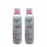 Dove Shower Mousse Rose Oil 200 Ml (Pack Of 2)