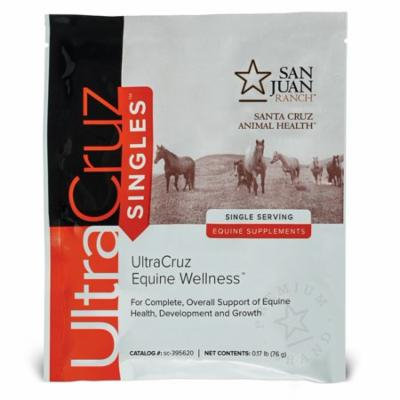 UltraCruz Horse Wellness Supplement, 60 single servings, pellets (30 day supply)