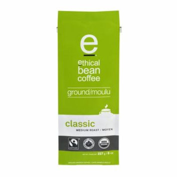 Ethical Bean Coffee Grnd Medium Rst,8Oz (Pack Of 6)