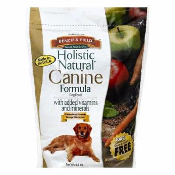 Bench & Field Dog Food Holistic,6.6Lb (Pack Of 4)