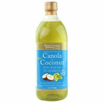 Spectrum Naturals Oil Canola & Coconut Blnd,32Oz (Pack Of 12)