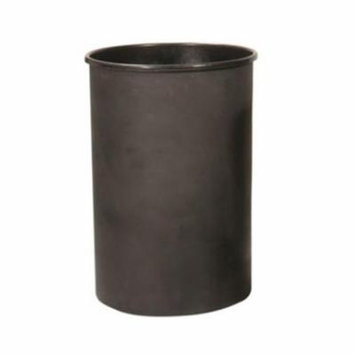 Outdoor Trash Can Liner With 55 Gallon, Black Plastic