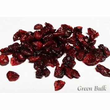 Dried Cranberries, 1 lb bag-Green Bulk Extra 5% buy $100+