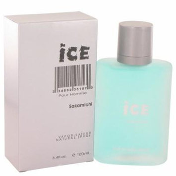 Ice by Sakamichi Eau De Parfum Spray 3.4 oz for Men